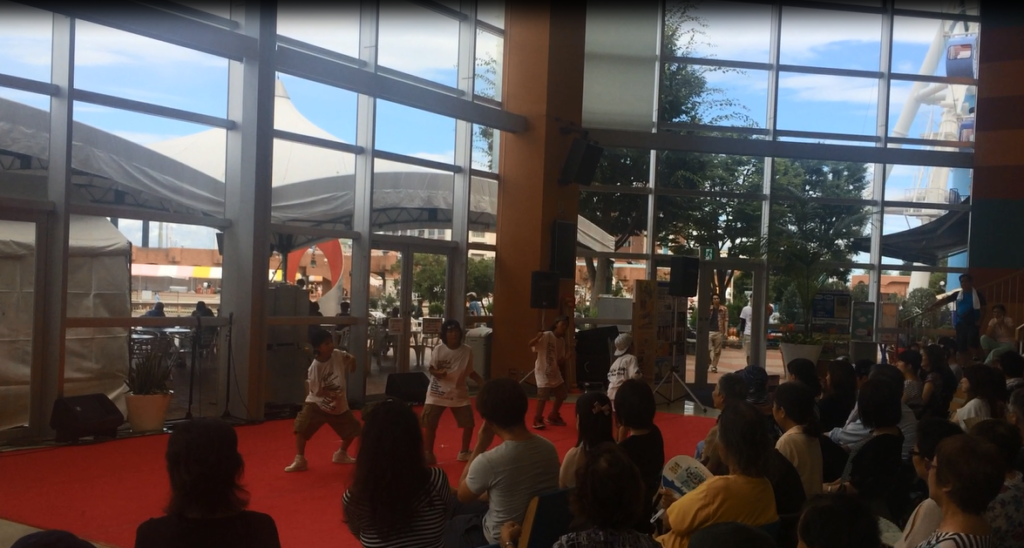 HOOD ダンススタジオ 静岡市清水区 ヒップホップ 8/20 イベント Kid's SP