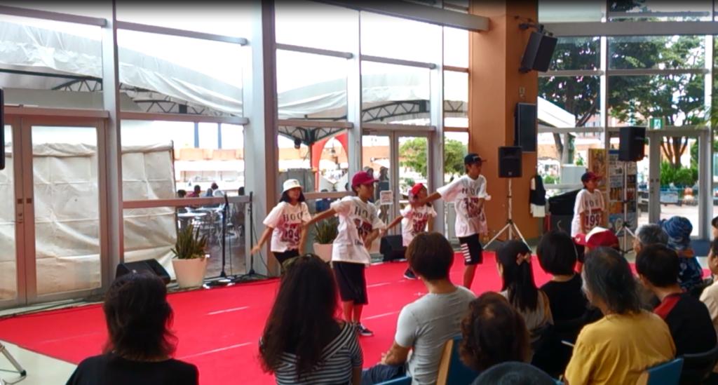 HOOD ダンススタジオ 静岡市清水区 ヒップホップ 8/20 イベント GAN初級