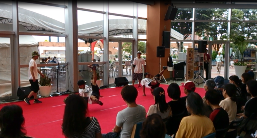 HOOD ダンススタジオ 静岡市清水区 ヒップホップ 8/20 イベント SHINGOBreakin