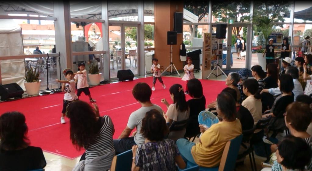 HOOD ダンススタジオ 静岡市清水区 ヒップホップ 8/20 イベント Kid's Little