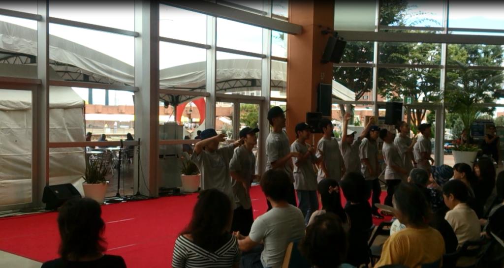 HOOD ダンススタジオ 静岡市清水区 ヒップホップ 8/20 イベント rikiya応用