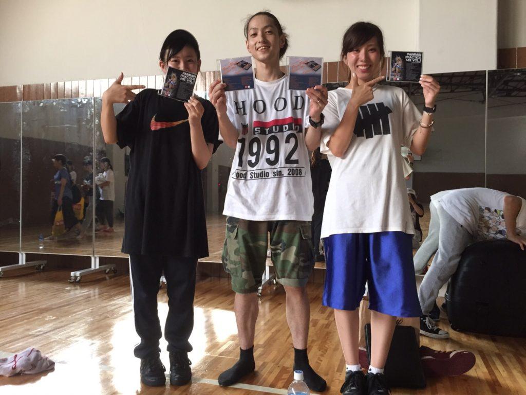 HOOD ダンススタジオ キッズダンス 静岡市清水区 ヒップホップ CD告知