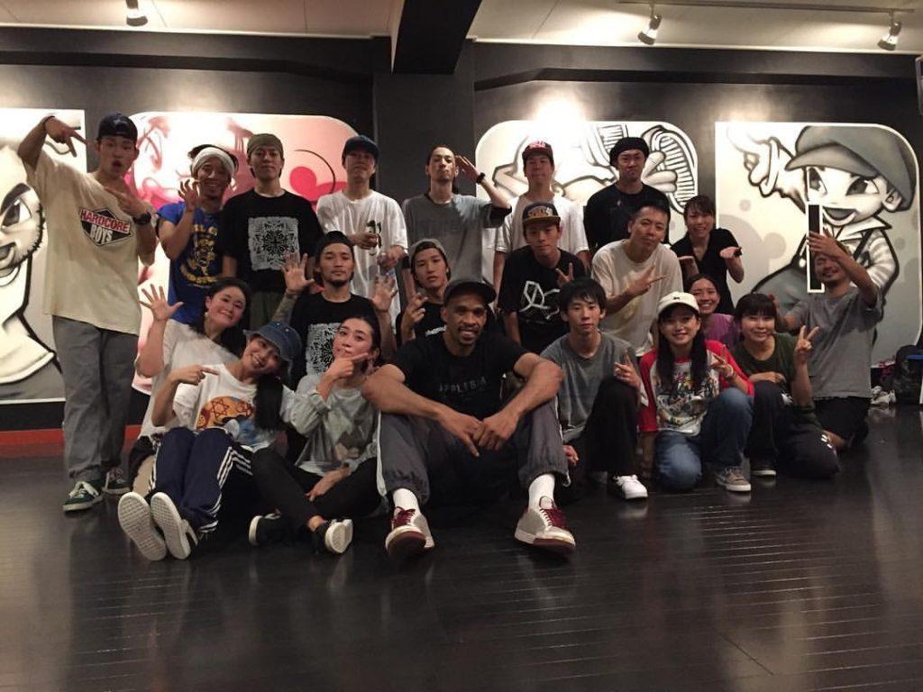 HOOD ダンススタジオ キッズダンス 静岡市清水区 ヒップホップ Caleaf workshop