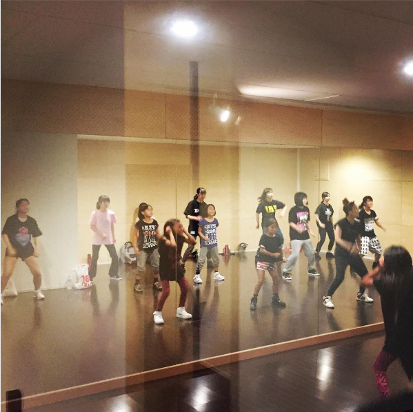 HOOD キッズダンス 清水区 ダンススタジオ ガールズヒップホップチズクラス